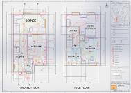 remCAD House Layout Drawing