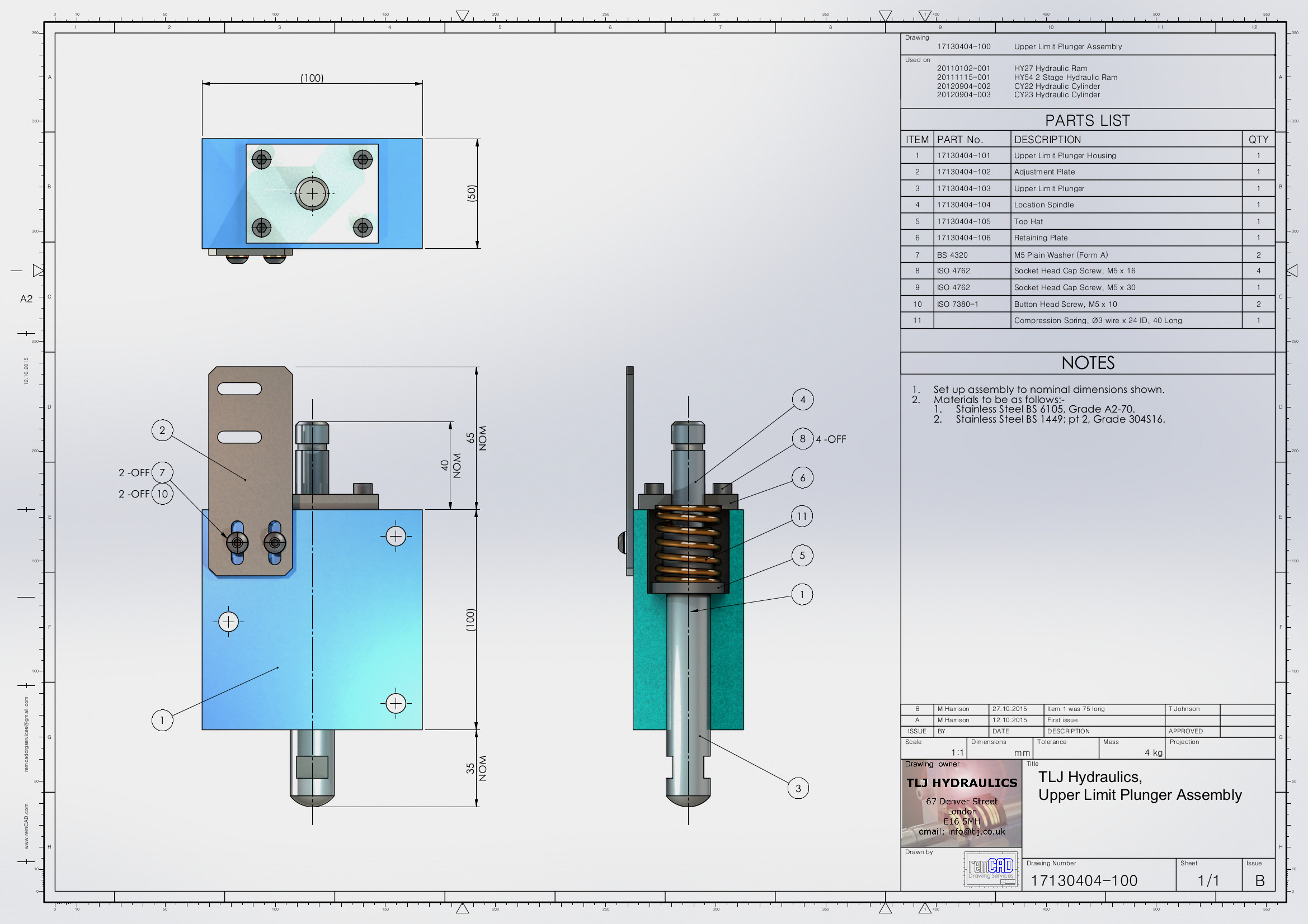 Cad Draughting Services By Remcad